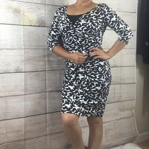 Extremely slimming DVF dress in size 6